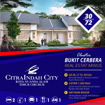 cerbera 30/72 CitraIndah City