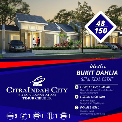 Dahlia 48/150 Citraindah city