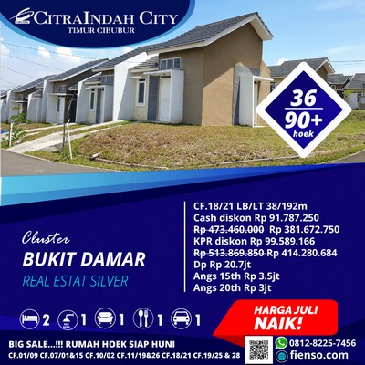 damar 36/90 CitraIndah City
