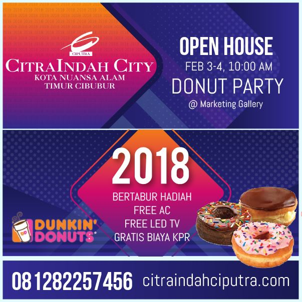 open house citra indah