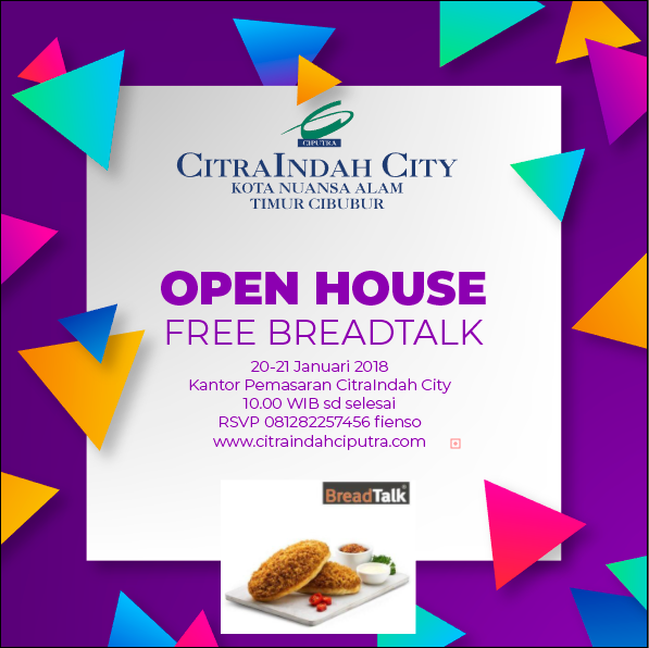 Open House CitraIndah City