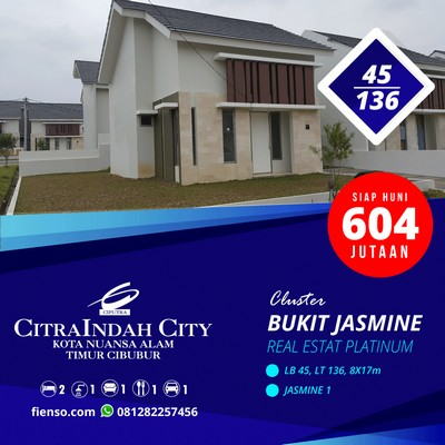 Jasmine 45/135, 150, 170, 180, CitraIndah City