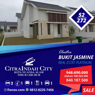 platinum Jasmine 52/272 bd.19/01 Citraindah city