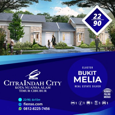 Melia 22/90 CitraIndah City