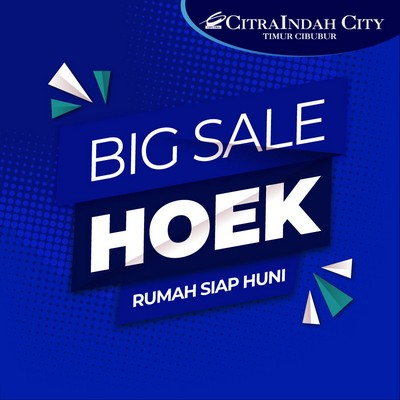 Sale. Big Discount. Siap Huni Hoek