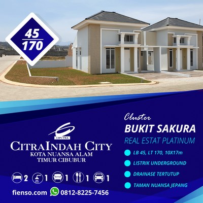 Sakura 4G, 45/170, CitraIndah City