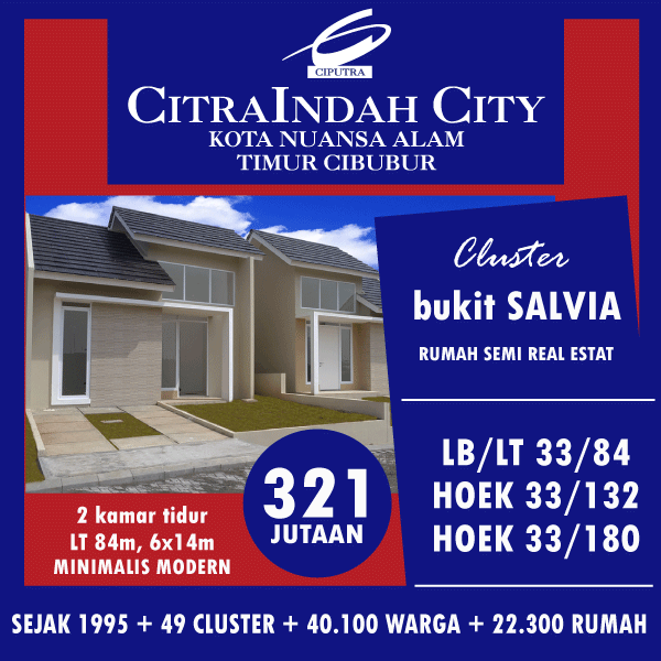 salvia 33/84 citra indah city