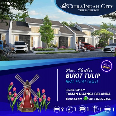 tulip 33/84 CitraIndah City
